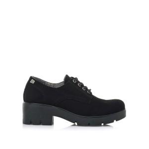 Mustang zapato negro bajo