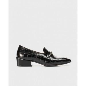 Wonders zapato mocasín negro