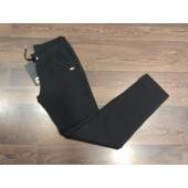 Slx luxury pantalón negro algodón